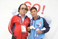 Vietnamese swimmer bags fifth gold medal at Asian Para Games