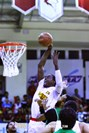 Saigon Heat's Williams goes for a slam dunk in an ABL match against Hi-Tech Bangkok City in Ho Chi Minh City on October 24. Photo credit: ABL