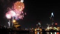 Fireworks from tallest tower to mark New Year in HCMC