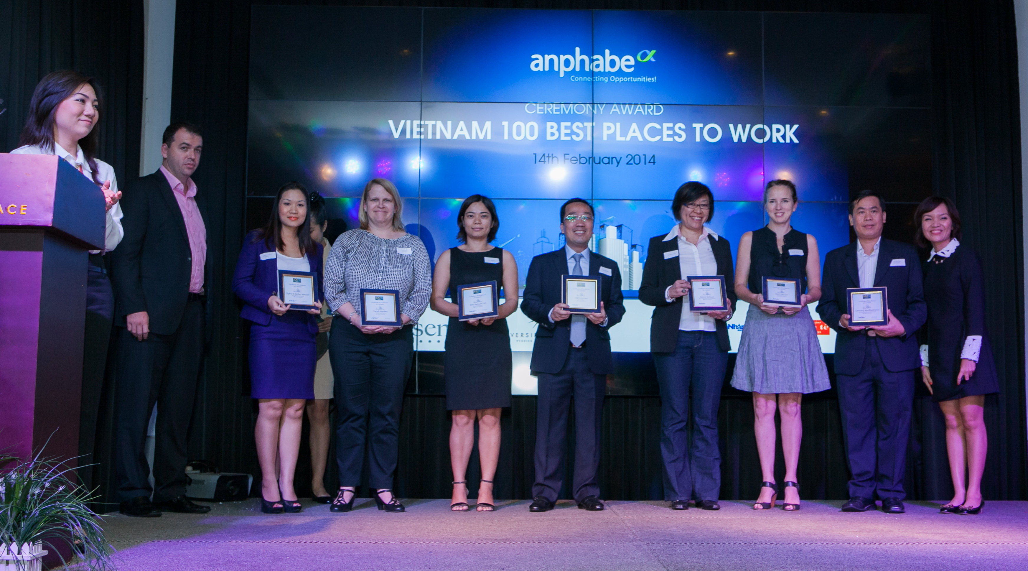 Anphabe to survey 100 best places to work in Vietnam