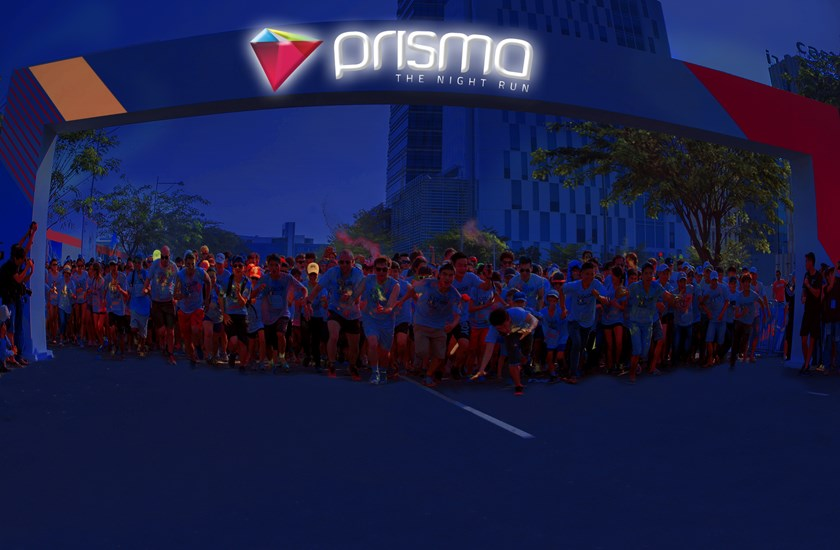 HCMC Prisma night run promises 'wonderlands' of light and sound