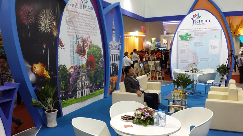 Vietnam's promotional booth at international fairs is often empty. Photo: Tran Tam