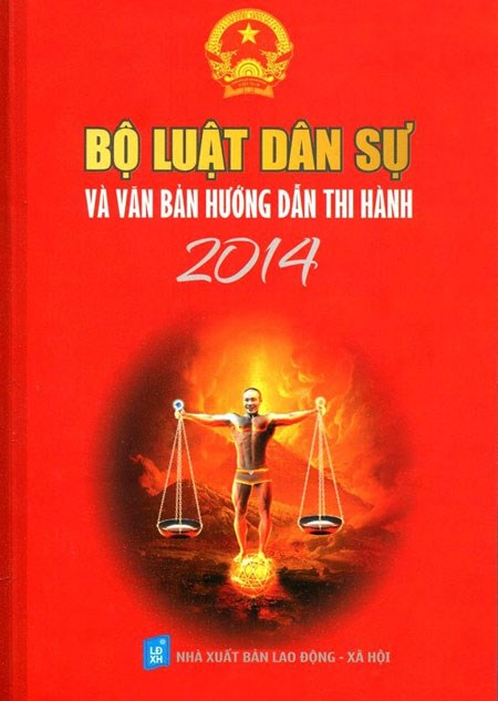The image of comic actor Cong Ly's head was used on the cover of the Civil Code without his awareness.