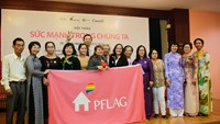 The network of parents, families and friends of LGBT people established in Ho Chi Minh City on January 27. Photo: Minh Hung