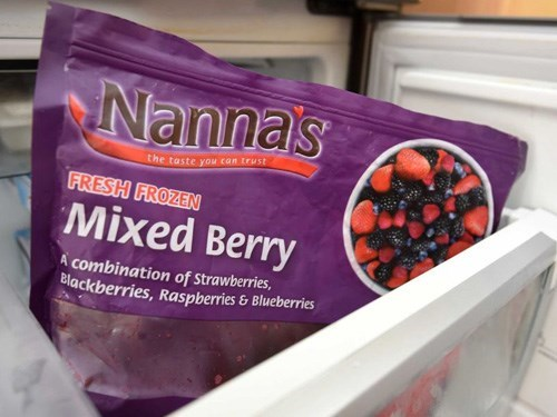 Nanna frozen berries have been recalled in Australia over Hep A concerns. Photo credit: AAP
