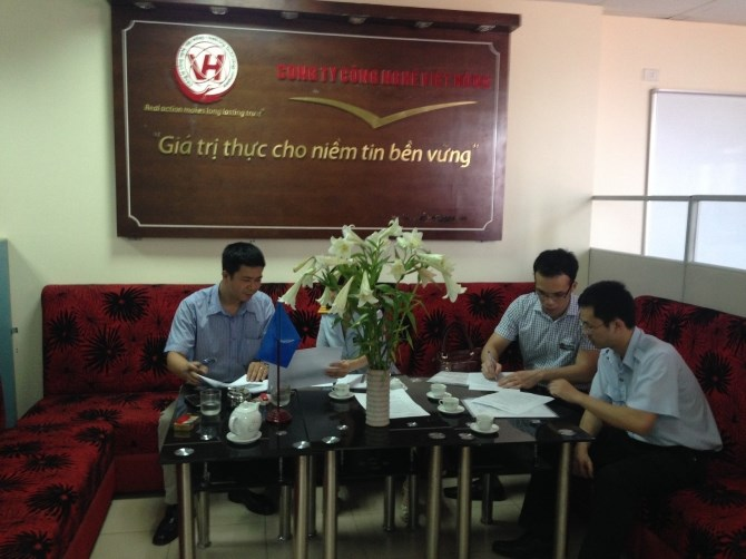 The office of Viet Hong Company in Hanoi. Photo credit: VTC