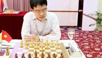 Le Quang Liem at the HD Bank Cup International Open Chess Tournament 2015 in Ho Chi Minh City. Photo: Kha Hoa