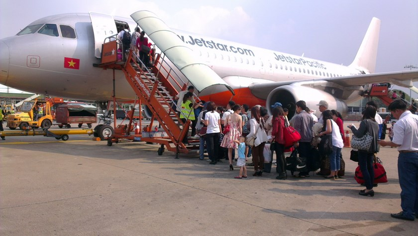 Jetstar Pacific will launch Hanoi - Phu Quoc flights during the coming summer vacation. Photo: Minh Hung