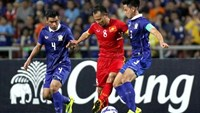 Vietnam will host Thailand in the second leg on October 13 in their 2018 World Cup qualifying round.