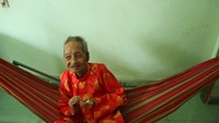 Nguyen Thi Tru, 122, is living in Ho Chi Minh City's Binh Chanh District. Photo credit: Worldkings