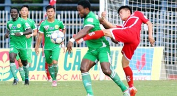 Binh Duong maintains V.League lead after crushing Can Tho 4-1