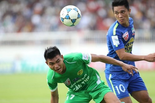 Hoang Anh Gia Lai and Can Tho shared 1 points each with a 1-1 draw on August 9.