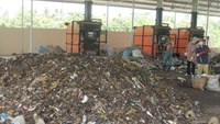A small waste processing plant in Can Tho City. Photo: Quang Minh Nhat