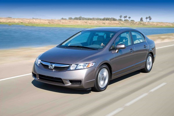 Thousands of Honda Civic cars manufactured from 2006-2011 are among vehicles recalled by Honda Vietnam. File photo