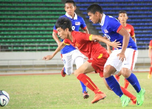 A 0-0 draw against Malaysia is within expectation of Vietnam's Coach Hoang Anh Tuan. Photo: Do Hai