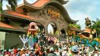 Suoi Tien Theme Park marks 20th anniversary with big promotions