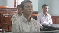 Doan Phuoc Minh stands trial on September 10. Photo credit: Tien Phong