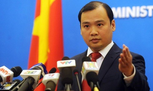 Vietnamese Ministry of Foreign Affairs spokesperson Le Hai Binh.