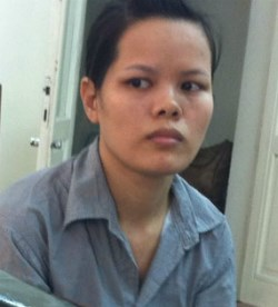 Nguyen Thi Hao, 30, was convicted of running prostitution den with underage sex worker. Photo credit: VnExpress
