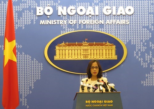 Vietnamese Foreign Ministry's deputy spokesperson Pham Thu Hang. Photo: Truong Son