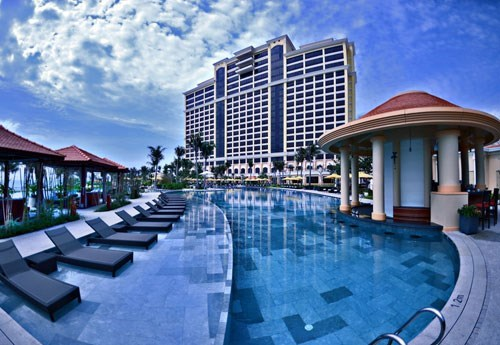 A five-star hotel with casino in Ba Ria Vung Tau Province. File photo