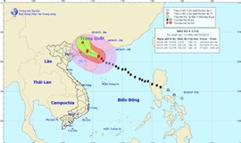 Typhoon Mujigae threatens rough seas, rains in northern Vietnam