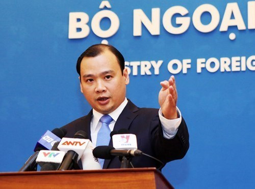 Foreign Ministry's spokesperson Le Hai Binh. Photo: Truong Son