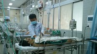 The emergency ward at Cho Ray Hospital in Ho Chi Minh City. Photo: Vien An