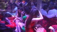 Sex workers at a nightclub in Vietnam. Photo: Thanh Nien