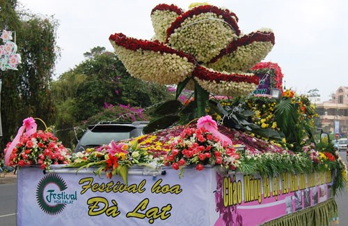 Da Lat Flower Festival To Enchant New Year Vacationers