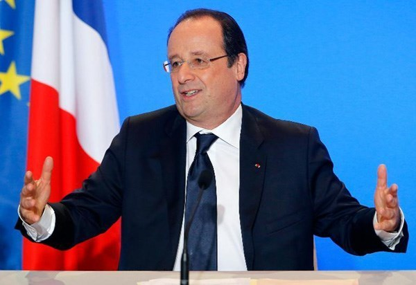 French President Francois Hollande. Photo: AFP
