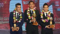 Golden Ball Awards honors strikers Anh Duc, Minh Nguyet
