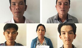 5 members of HCMC street gang arrested after blatant robbery