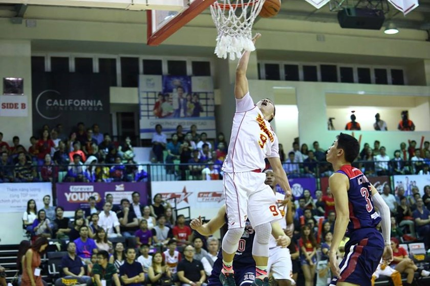 Saigon Heat beat Pilipinas MX3 Kings 84-79 at CIS Arena in Ho Chi Minh City on February 17, 2016. Photo credit: Saigon Heat
