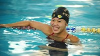 Anh Vien, seen in this file photo, has won a silver medal at the US Arena Pro Swim Series in Orlando on Thursday. Photo: Pham Tuan
