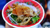 Cao lau, a famous noodle dish of the ancient town of Hoi An in central Vietnam. Photo: Giang Vu