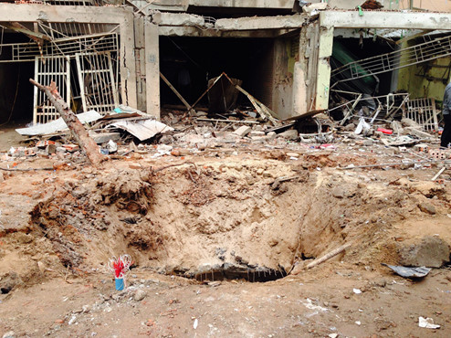 Deadly blast in Hanoi allegedly caused by man opening bomb with blow torch, police said
