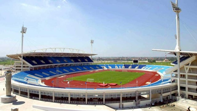 The My Dinh Stadium in Hanoi will be among major venues for the 31s Southeast Asian Games in 2021. Photo: Ngo Nguyen