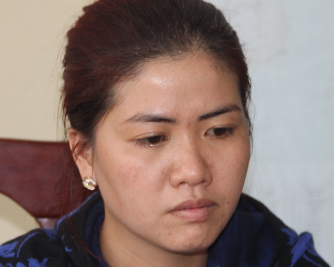 Nguyen Thi Thuy Trang, 29, has been accused of colluding with some African men to con dozens of Vietnamese women. Photo credit: Tuoi Tre