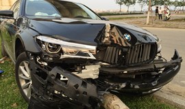 $224,000 BMW wrecked during test drive in Da Nang