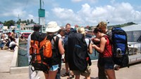 Foreign tourists visit Phu Quoc Island in southern Vietnam. Photo: Quang Minh Nhat