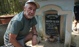 American veteran finds peace at former battlefield in Vietnam