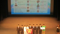Vietnamese students at the 17th Asian Physics Olympiad in Hong Kong. Photo credit: Dan Tri