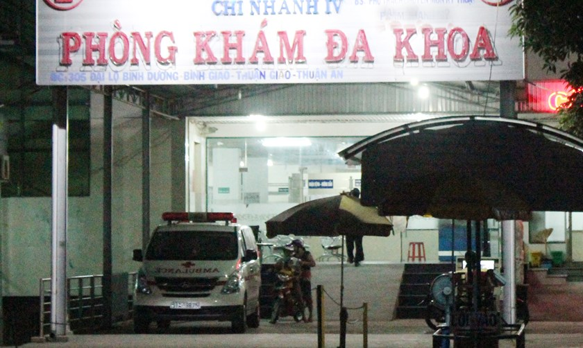 The Hoan Hao 4 clinic in Binh Duong Province's Thuan An District. Photo: Do Truong/Thanh Nien