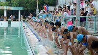 A free swimming class in Hanoi. Photo credit: Hanoi Youth Union
