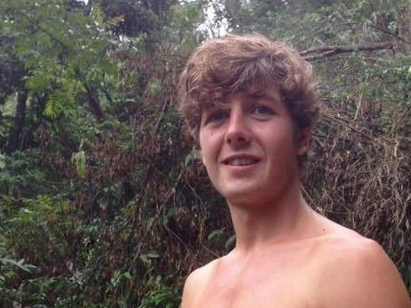 A photo of Aiden Webb, 23, who was reportedly gone missing near Sa Pa for four days. Photo credit: Lisa Shaw Webb