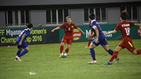Vietnam dominated the match but missed many scoring chances, according to Coach Mai Duc Chung. Photo: AFF
