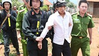 One of the 5 suspects who were arrested on August 13. Photo: Thanh Nien