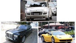 Luxury cars imported duty-free by overseas Vietnamese. Photo: Thach Thang