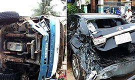 Traffic accidents kill 33 during holiday weekend in Vietnam